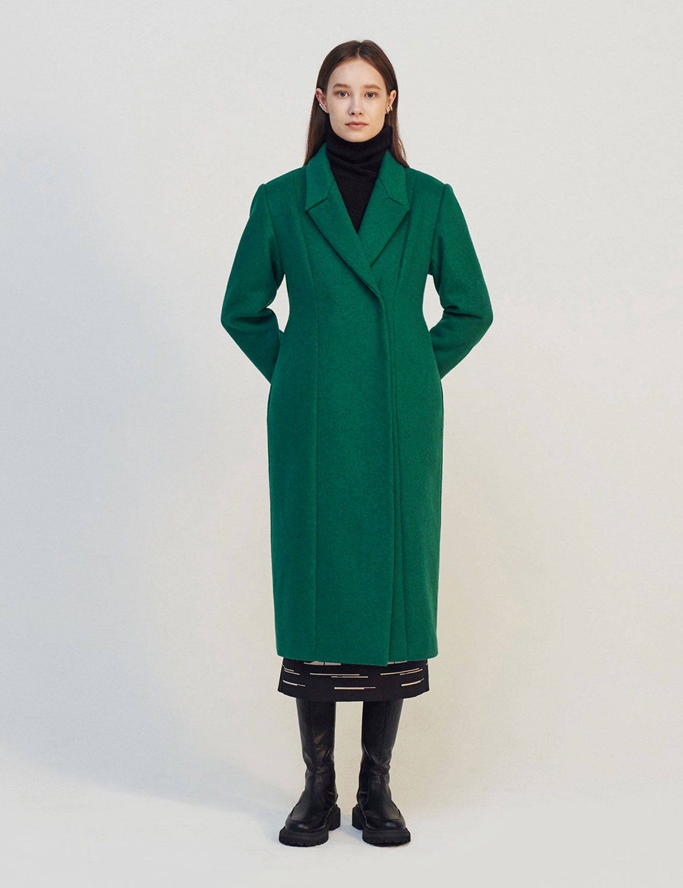 CHARETTE WOOL COAT